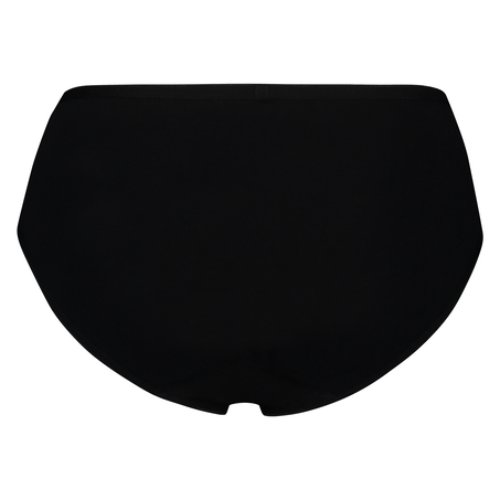 Super slip de coton, Noir