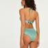 Haut de bikini à armatures à effet push-up préformé SoCal, Vert