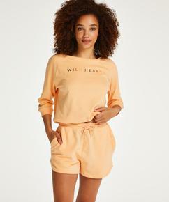 Short Sweat French, Orange