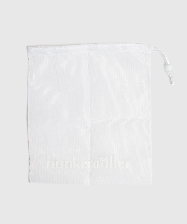Filet lingerie cordon, Blanc, main