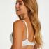 Soutien-gorge sans armatures préformé Mona, Blanc
