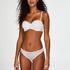 Soutien-gorge à armatures préformé sans bretelles Angie, Blanc