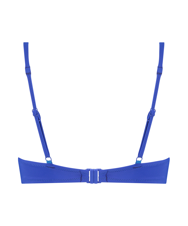 Haut de bikini push-up Luxe Taille A - E, Bleu, main