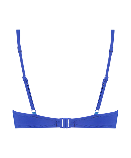Haut de bikini push-up Luxe Taille A - E, Bleu