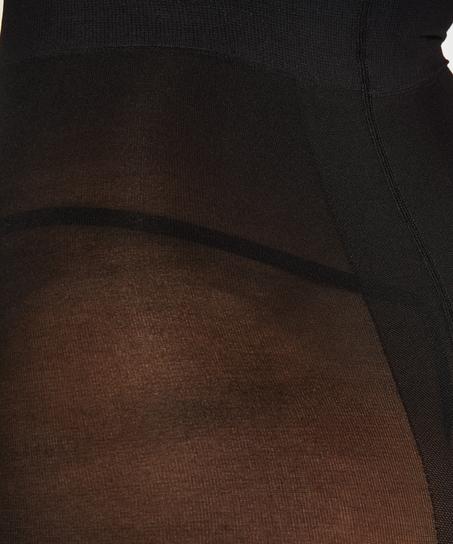 Collant 40 Denier Compression, Noir