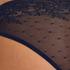 Invisible Slip brésilien Allover Lace (tout en dentelle), Bleu