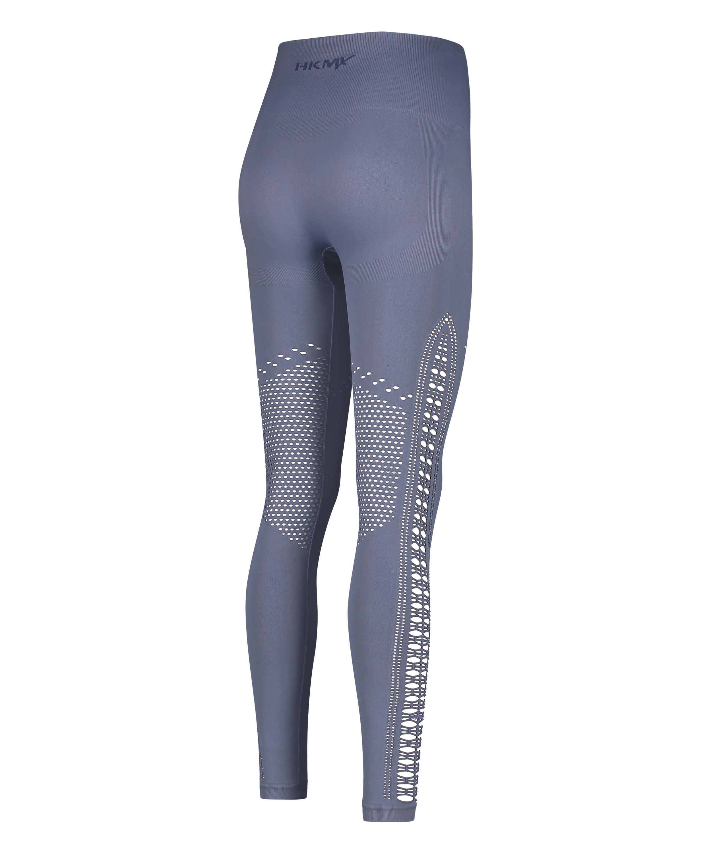 HKMX Legging taille haute sans couture Karma, Bleu, main