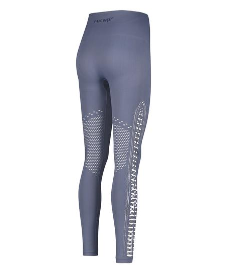 HKMX Legging taille haute sans couture Karma, Bleu