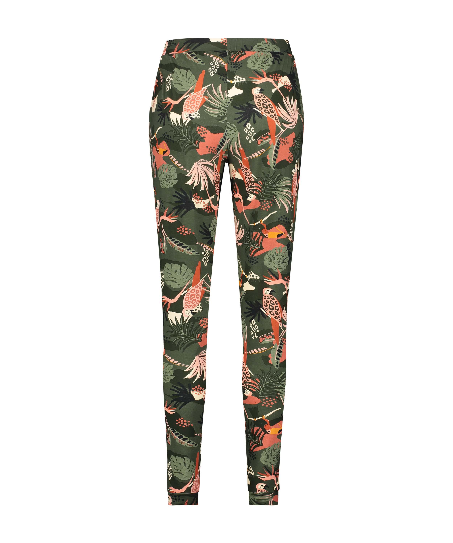 Petite pantalon de pyjama Jersey, Vert, main