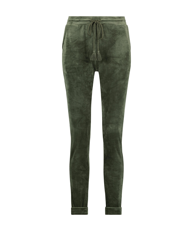 Tall Pantalon de jogging Velours, Vert, main