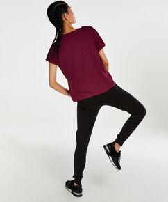 T-shirt de sport à manches courtes HKMX, Violet