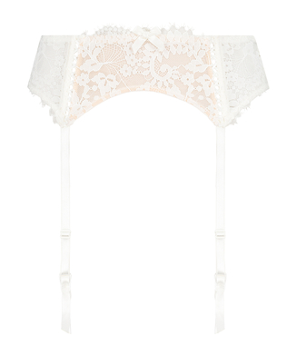 Porte-jarretelles Leyla, Blanc