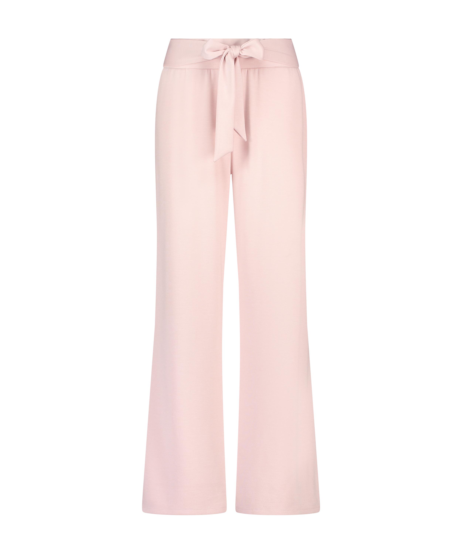 Pantalon Jambe Large, Violet, main