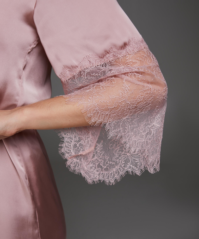 Kimono Satin Lily, Rose, main