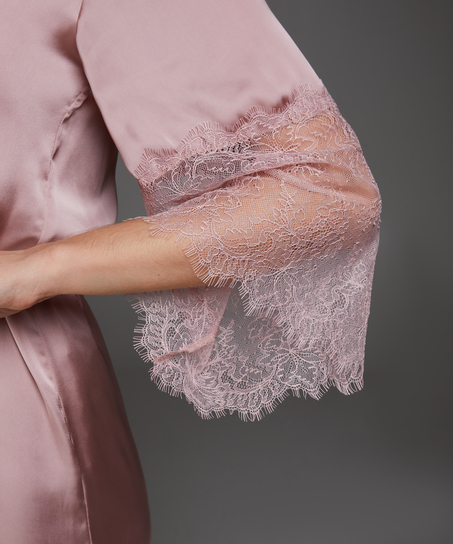 Kimono Satin Lily, Rose