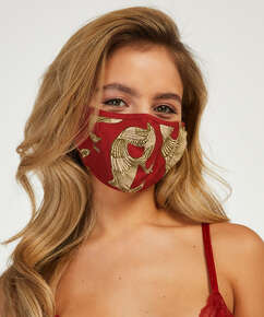 Masque Print, Rose