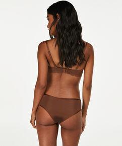 Slip brésilien Angie Nude, marron