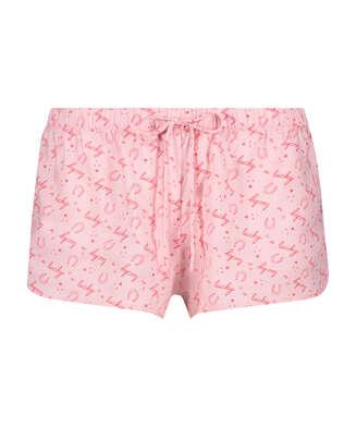 Pantalon de pyjama court Lucky, Beige