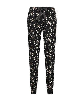 Pantalon de pyjama Jersey, Noir