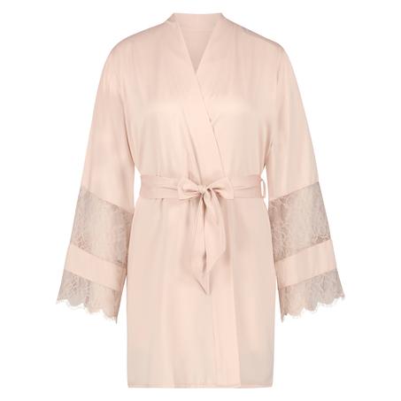 Kimono satin Bridal, Rose