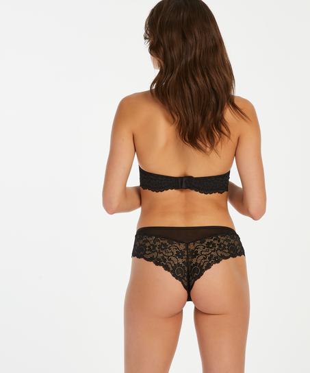 Short brésilien Mia, Noir