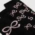 2 Paires de Chaussettes en Coton, Noir