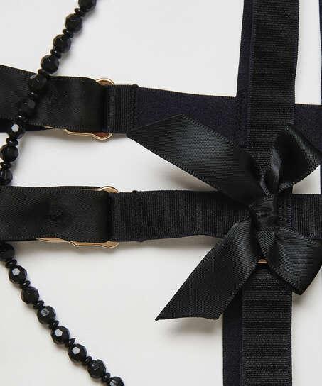 Porte-jarretelles Private Cuffs, Noir
