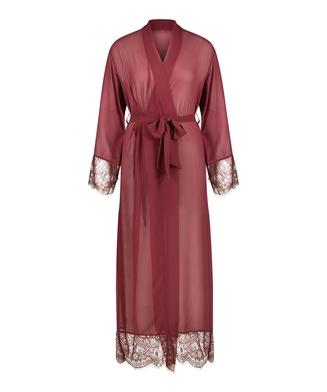Kimono en mousseline Rebecca Mir, Rouge