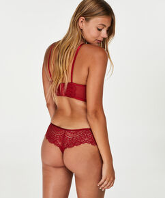 Boxer string Nofee, Rouge