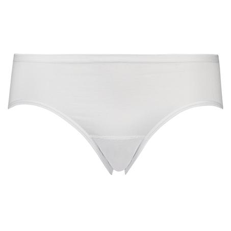 Super slip de coton, Blanc