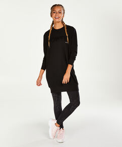 Robe Sweat HKMX, Noir