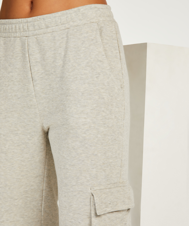 Petite Pantalon de jogging Cargo, Beige, main