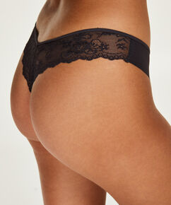 String Invisible Lace back, Gris