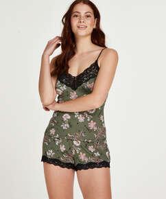 Pyjama Flower Words, Vert