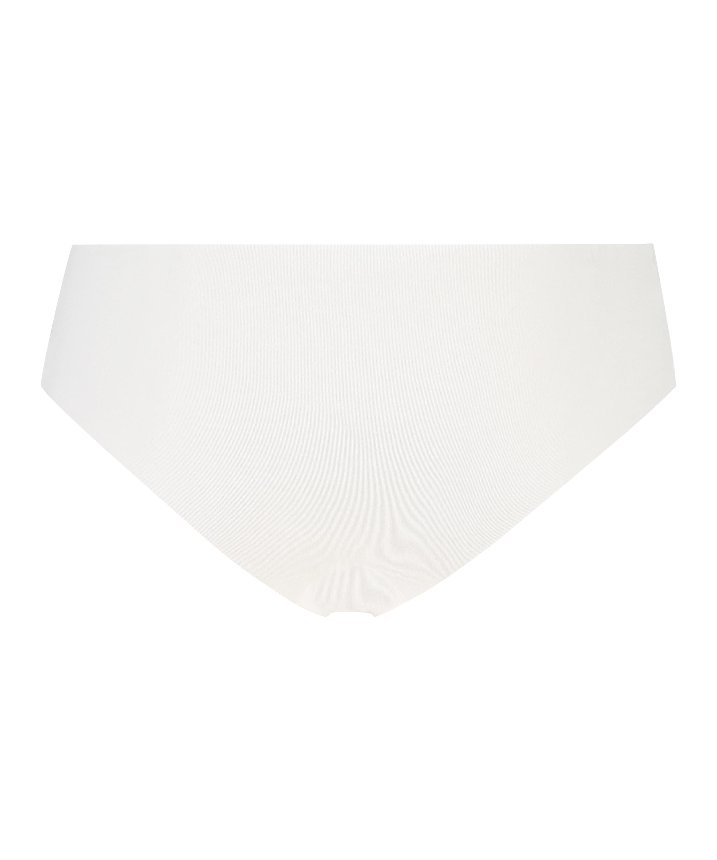 Slip brésilien Invisible coton, Blanc, main