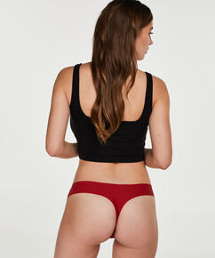 String Invisible lace front, Rouge