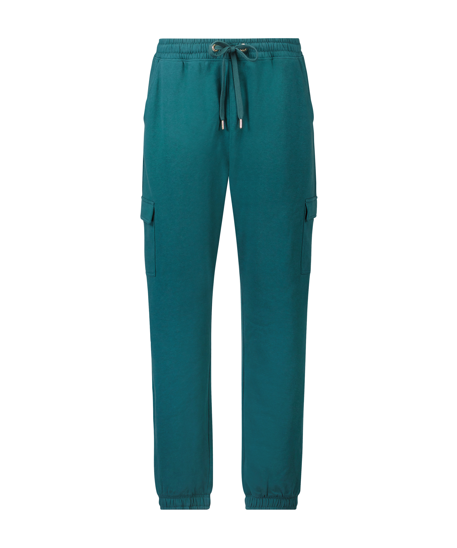 Petite Pantalon de jogging Cargo, Bleu, main