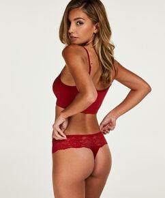 Boxer string Bianca, Rouge