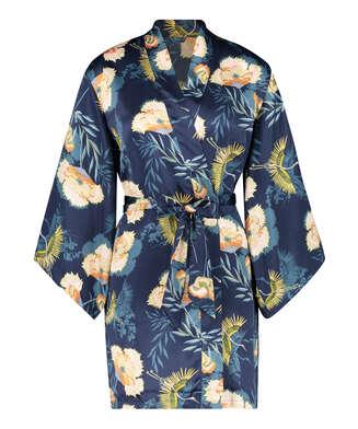 Kimono Lotus Bird, Bleu