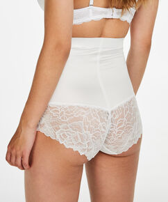 Slip Scuba lace - Level 3, Blanc