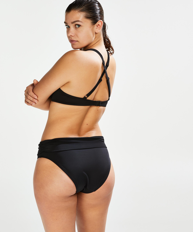 Haut de bikini à armatures préformé Sunset Dreams Taille E +, Noir, main