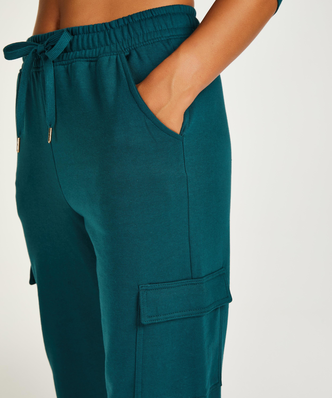 Pantalon de jogging Cargo, Bleu, main