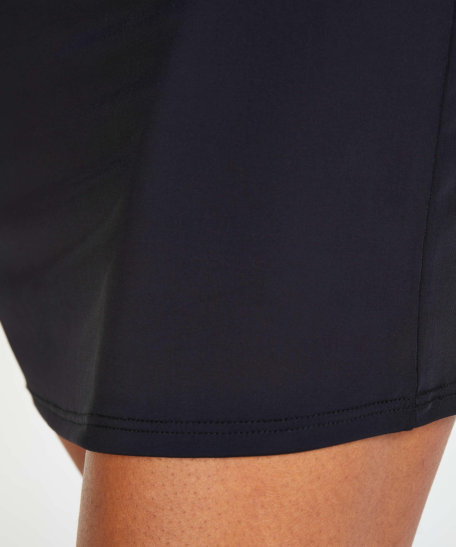 Sous-jupe lissante - Level 1, Noir, main
