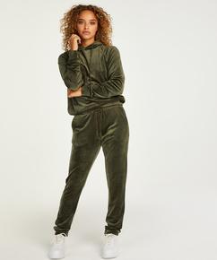 Petite Pantalon de jogging Velours, Vert