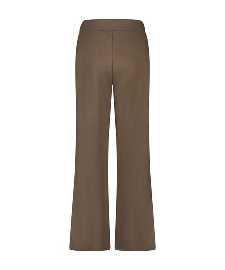 Pantalon Jambe Large, Vert
