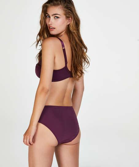 Slip taille haute Sophie, Violet
