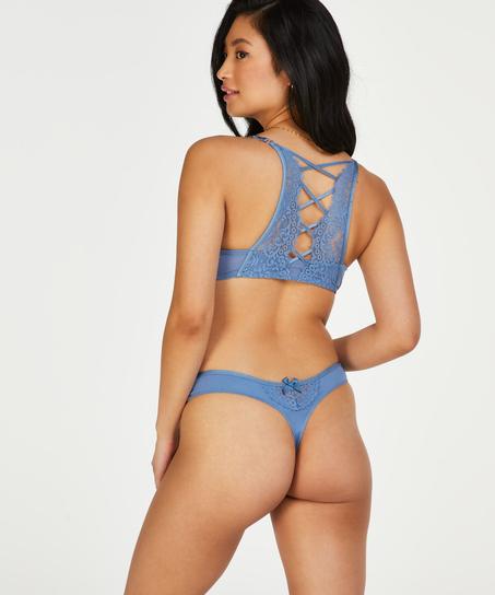 String Cardi, Bleu