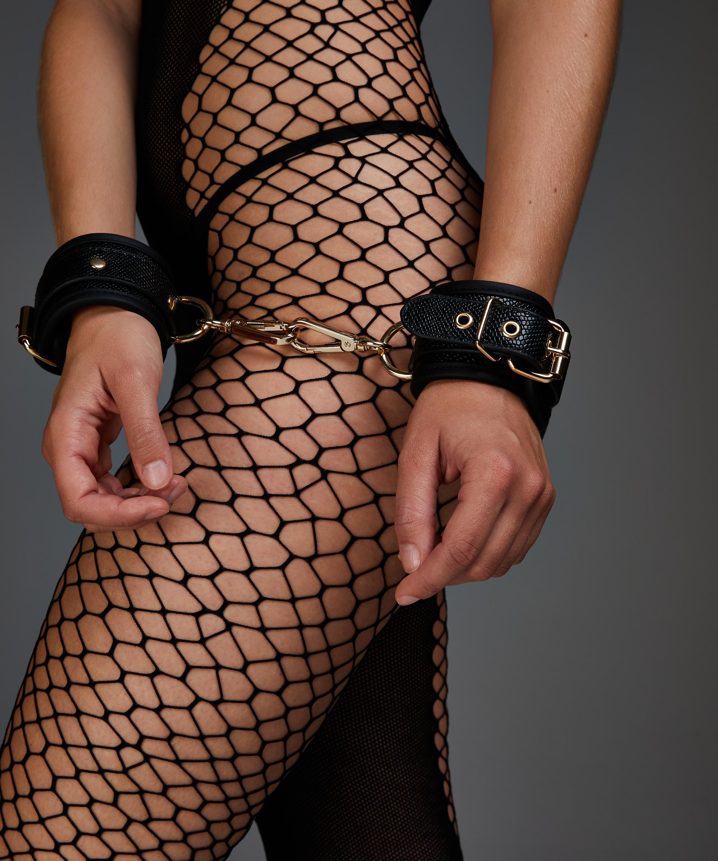 Menottes Serpent , Noir, main