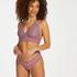 Slip brésilien V-shape mesh, Violet