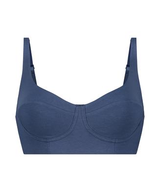 Bralette Vibing, Bleu